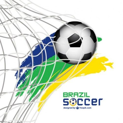vector futbol brasil illustrator