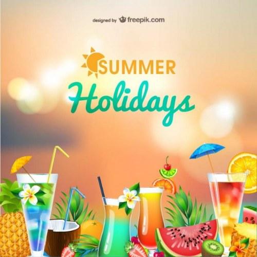 vectores verano illustrator gratis