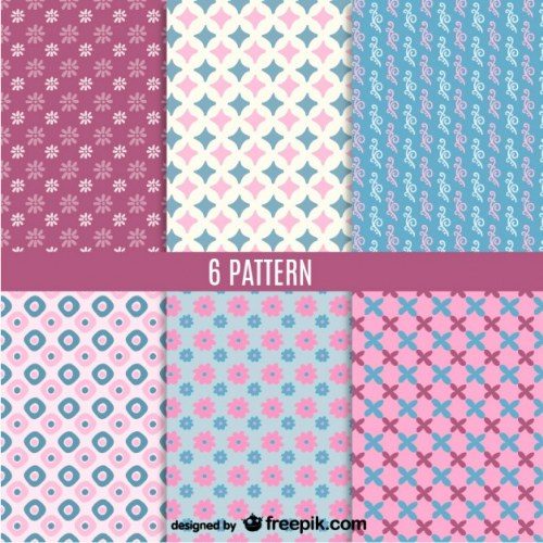 patterns lindos illustrator gratis