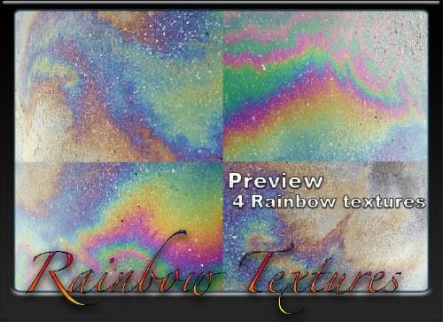 arcoiris texturas photoshop