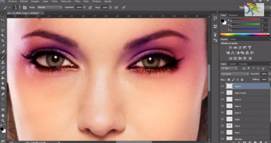 maquillar con photoshop tutorial gratis