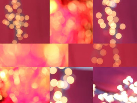texturas luces bokeh photoshop