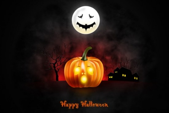 wallpaper halloween calabaza gratis
