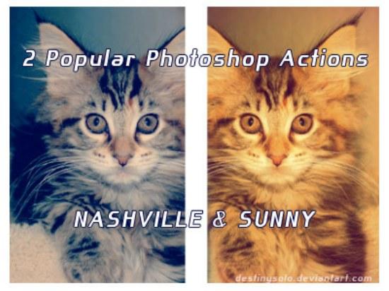 acciones photoshop gratis pack
