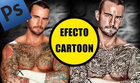 efecto cartoon photoshop tutorial
