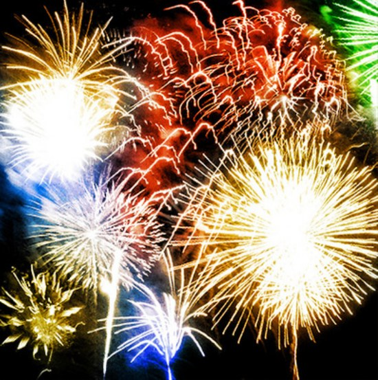 pinceles fuegos artificiales photoshop gratis