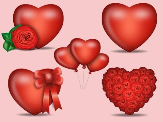 recursos photoshop san valentin