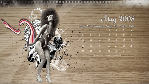 wallpapers de alta calidad como calendarios