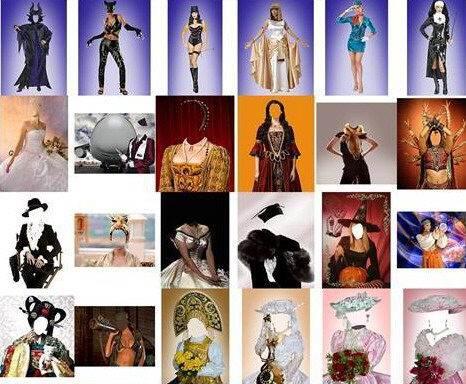 Monstruosa colección de personajes en PSD