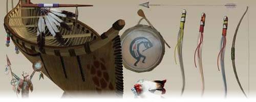 Elementos indígenas en PNG
