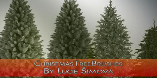 Brushes motivos navideños