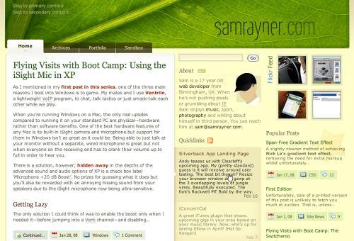Hermosos diseños web