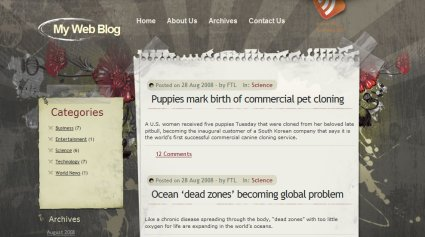 Themes para wordpress estilo grunge