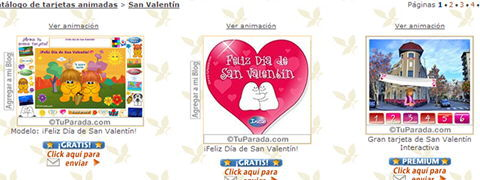 postales de san valentin gratis