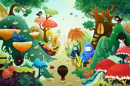 Ilustraciones geniales de personajes