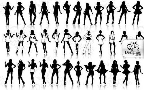 vectores de chicas sexys (eps)