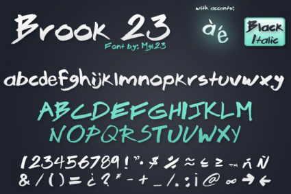 fuentes windows escritura mano