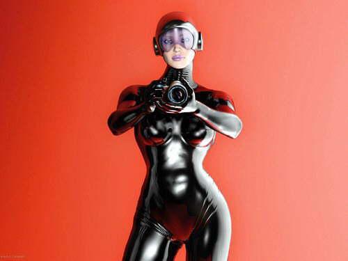 mundos futuristas y tenebrosos 3d