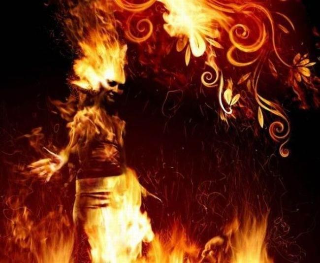 arte curioso diseño fuego