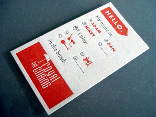 Tarjetas de presentació