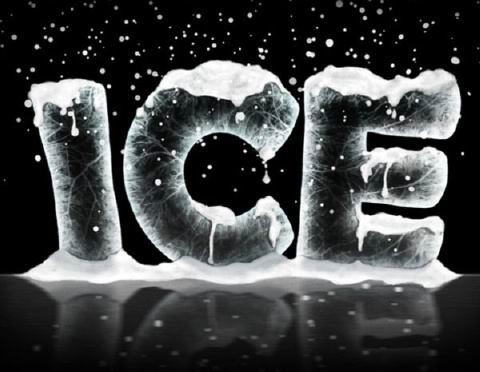 tutorial palabras con nieve