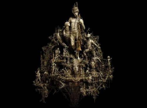 esculturas oscuras
