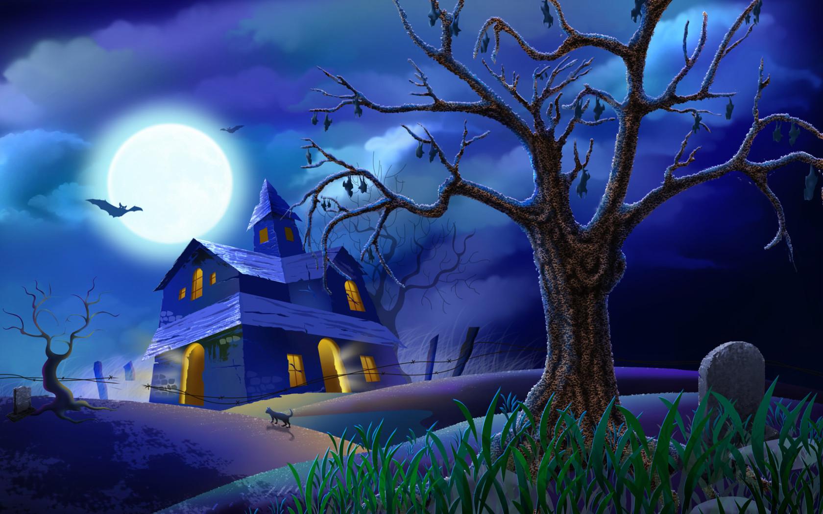 Fondos De Escritorio Gratis: Fondos De Escritorio De Halloween Gratis
