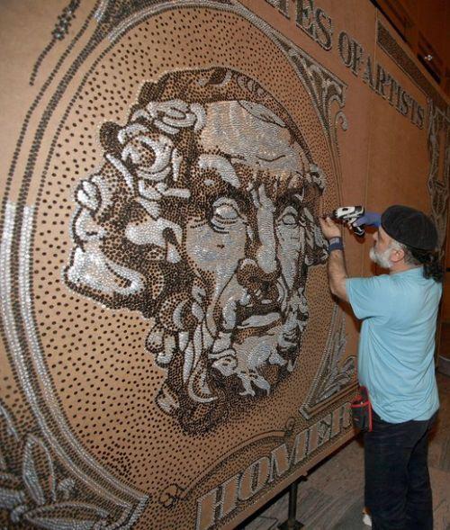 mosaico tornillos