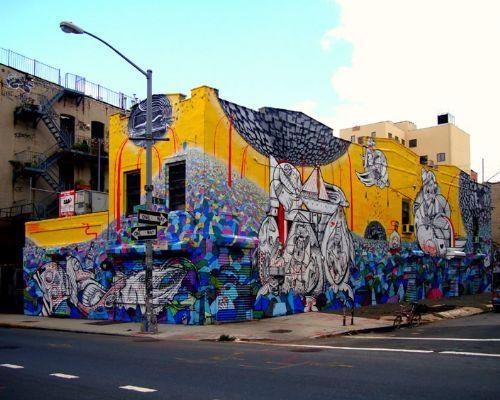 arte graffiti newyork