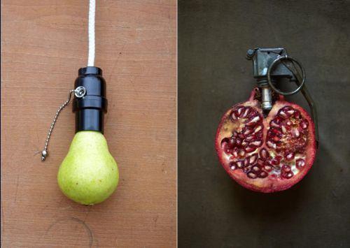 efectos visuales frutas