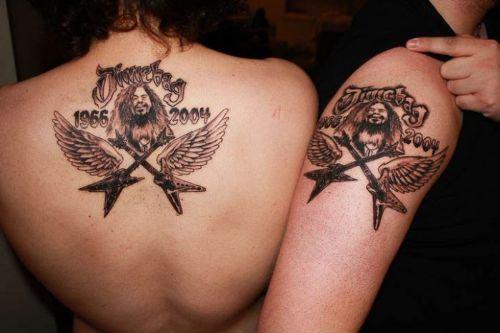 tatuajes dimebag darrell