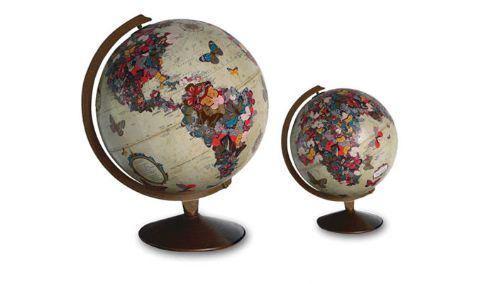 arte globos terraqueos