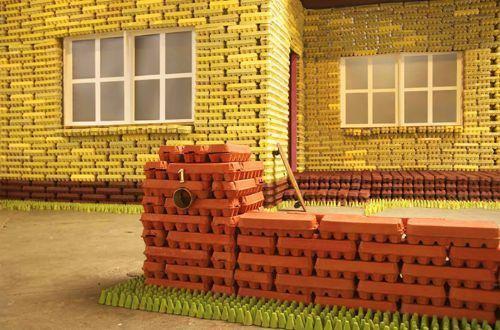 casa huevo