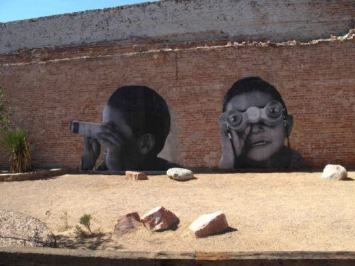 graffiti abandonado