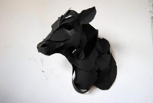 animales 3d papel