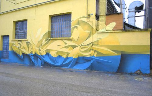 graffiti tres dimensiones