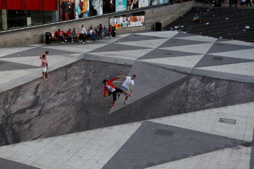 arte ilusion calle