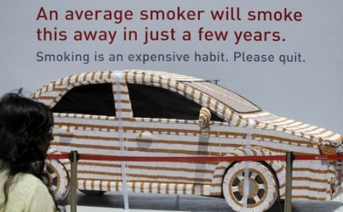 carro cigarrillos