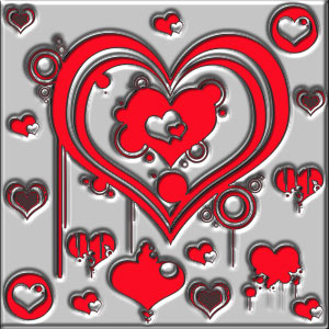 pinceles corazones mas