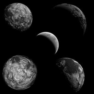 pinceles planetas