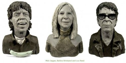 esculturas plastilina