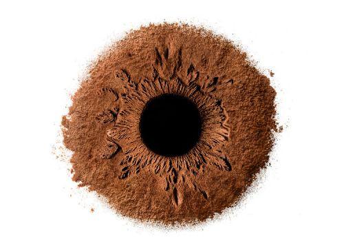 ojos arena