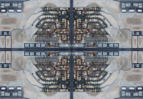 alfombra persa satelite