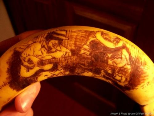 arte banana increible
