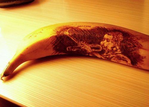 arte banana increible
