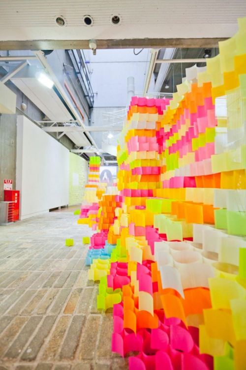 arte post it estructura