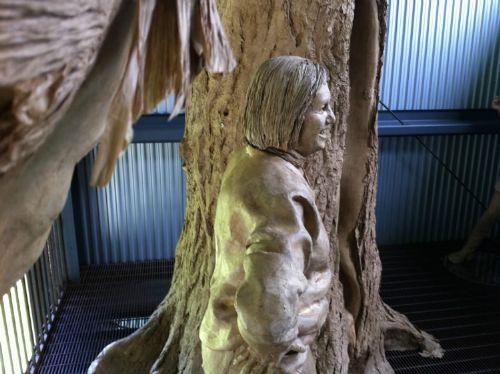 esculturas cinta embalaje