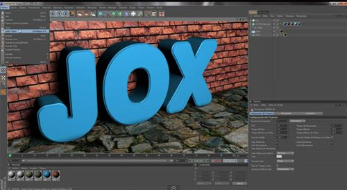Tutorial Cinema 4D: Efecto de Texto Real en 3D