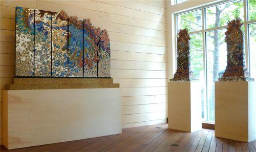 esculturas madera terry