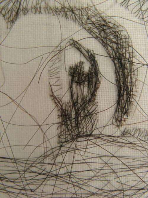 arte cabello humano
